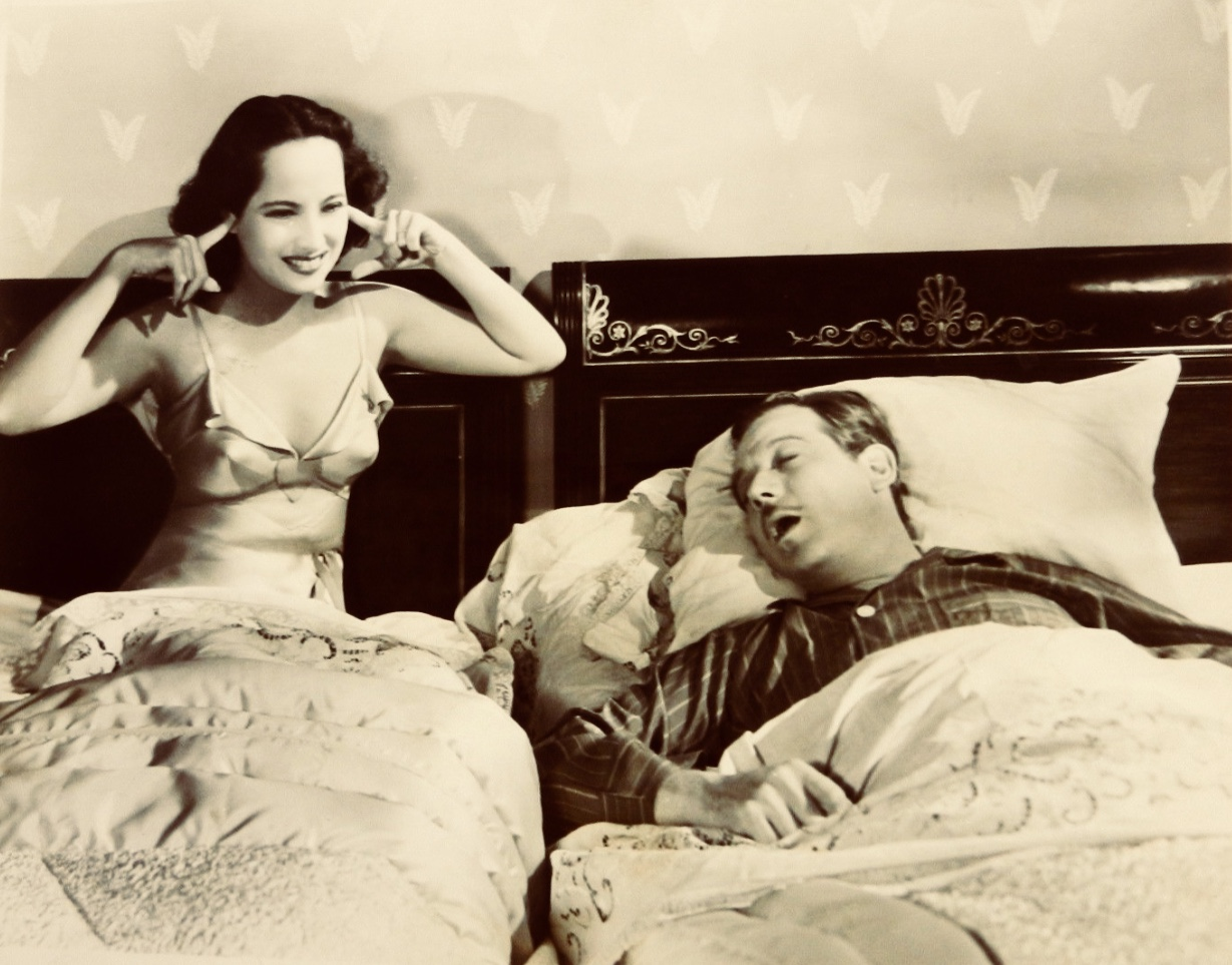 Melvyn Douglas and Merle Oberon in That Uncertain Feeling (1941)