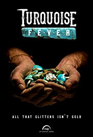 Turquoise Fever Poster