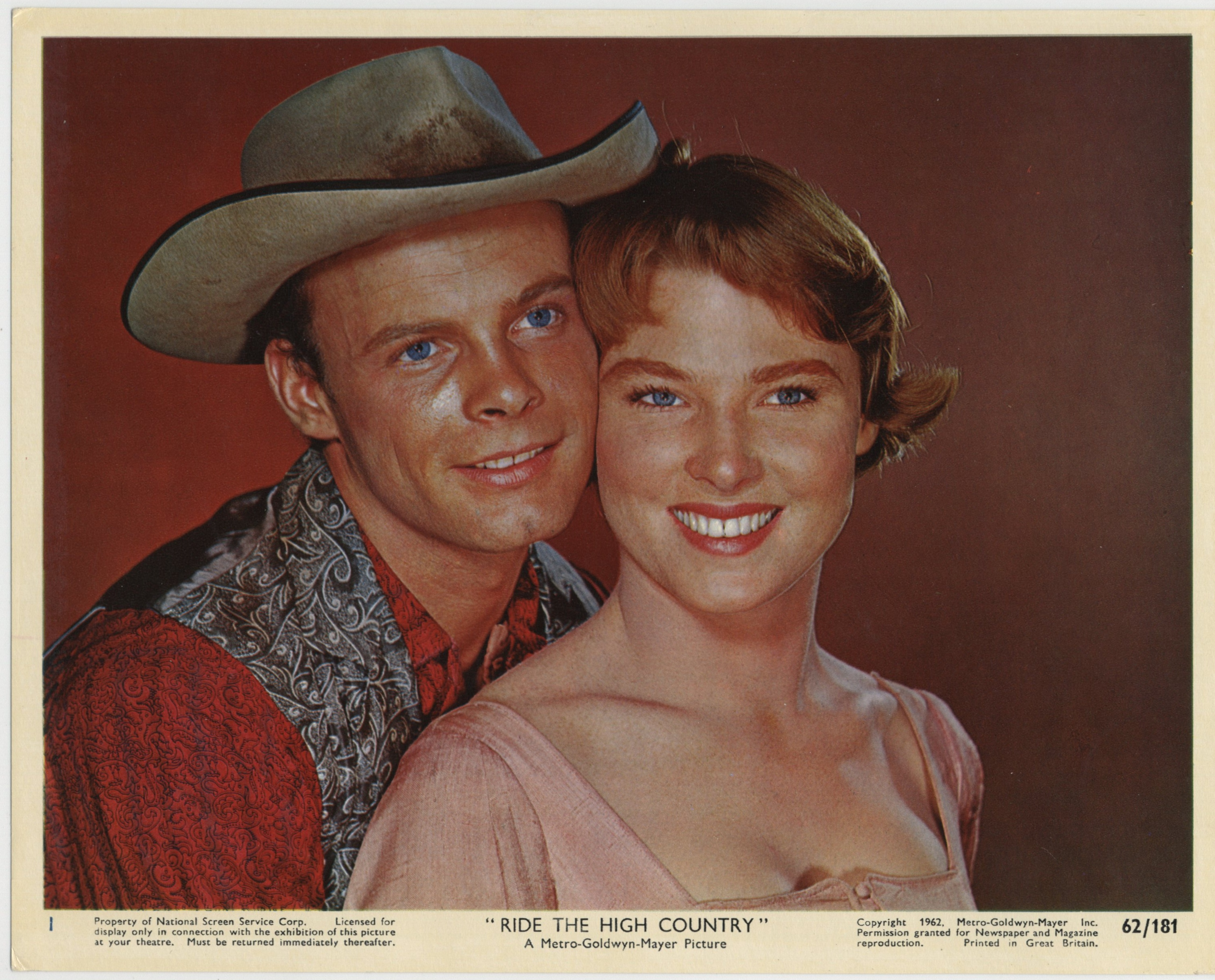 Mariette Hartley and Ron Starr in Ride the High Country (1962)