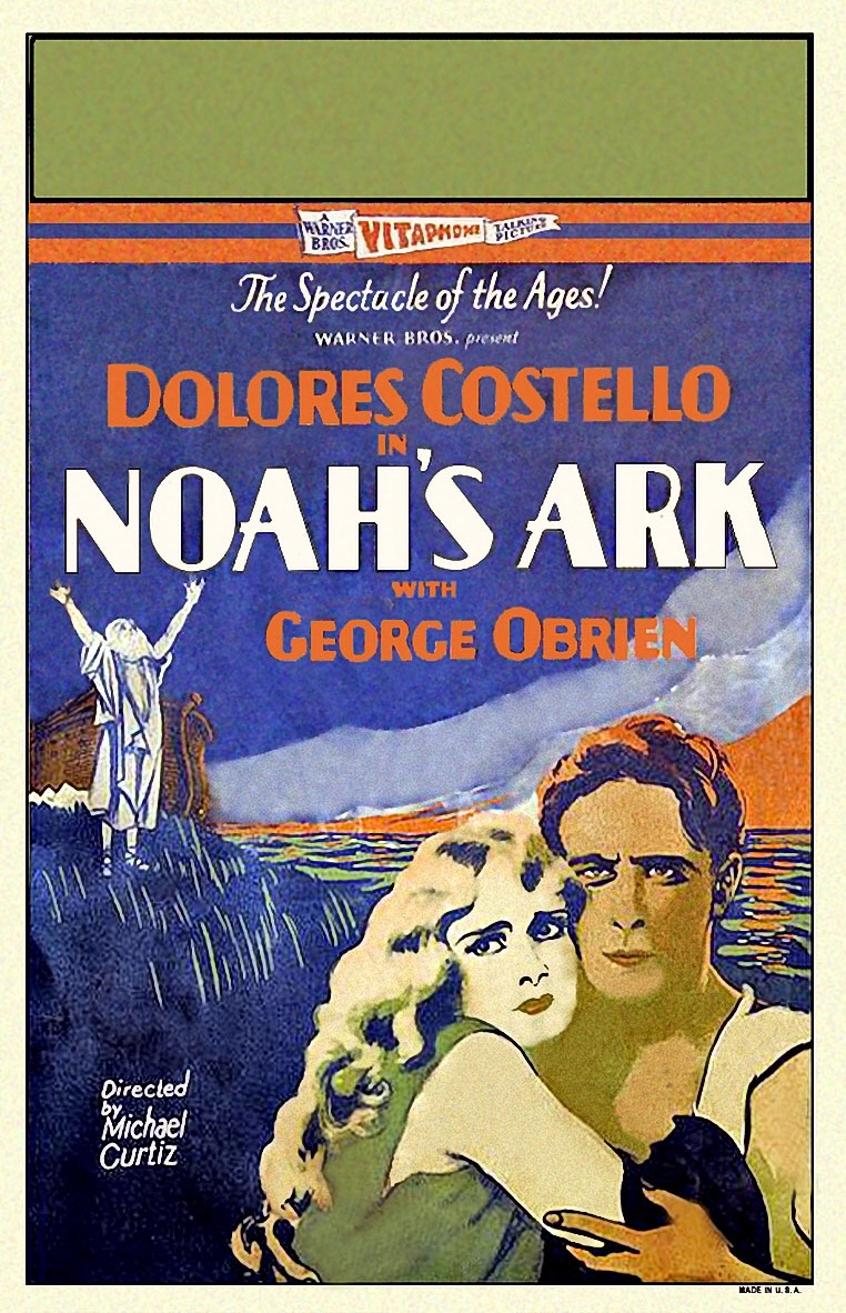 Dolores Costello and George O'Brien in Noah's Ark (1928)