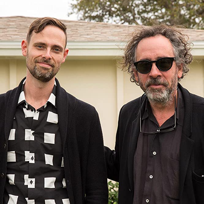 Tim Burton and Ransom Riggs in Miss Peregrine's Home for Peculiar Children (2016)
