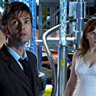Catherine Tate and David Tennant in Doctor Who (2005)
