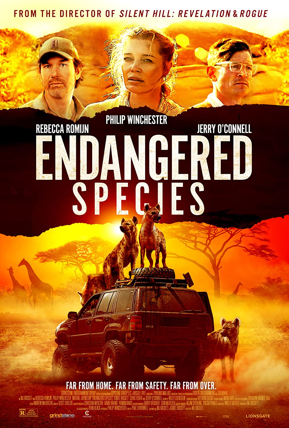 Endangered Species 2021 English 720p BluRay 800MB Download