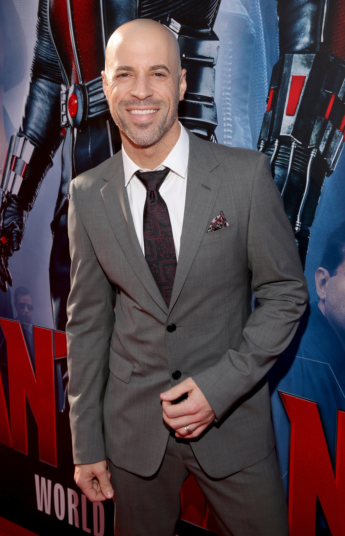 Chris Daughtry at an event for Ant-Man (2015)