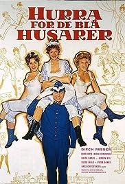 Hurra for de blå husarer Poster