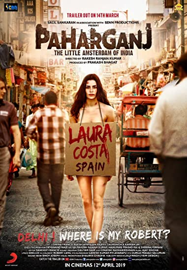 Paharganj 2019 Full Hindi Movie Download 300MB 480p HDRip