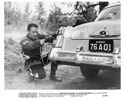 William Henry in Canadian Mounties vs. Atomic Invaders (1953)