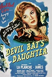 Devil Bat's Daughter Poster