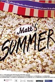 Matt's Summer Poster