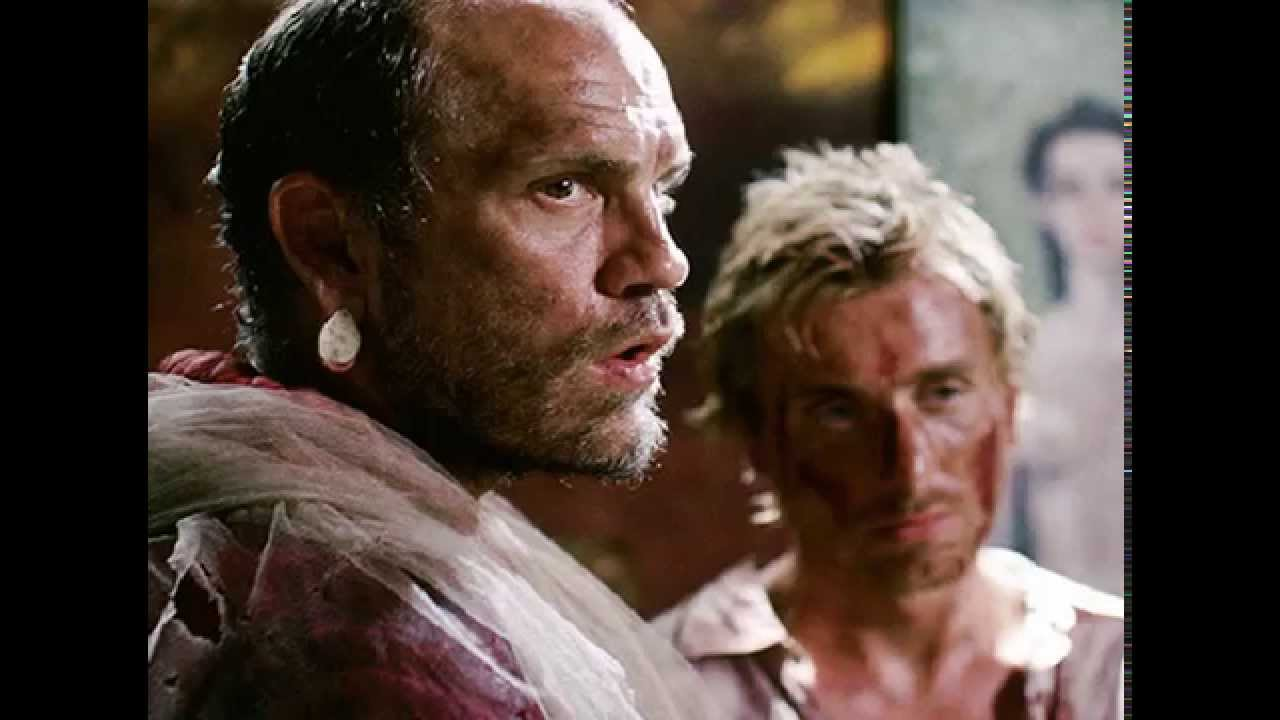 John Malkovich and Tim Roth in Heart of Darkness (1993)