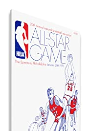 1970 NBA All-Star Game Poster