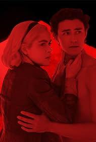 Kiernan Shipka and Gavin Leatherwood in Chilling Adventures of Sabrina (2018)