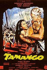 Alex Cressan, Dorothy Dandridge, and Curd Jürgens in Tamango (1958)