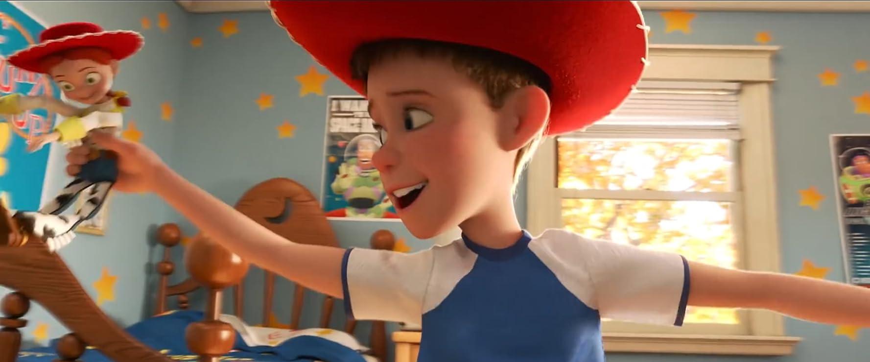 《玩具總動員 4》裡年幼的安迪的出現