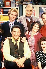 Judd Hirsch, Billie Bird, Jere Burns, Jane Carr, Isabella Hofmann, William O'Leary, Susan Walters, and Tom Willett in Dear John (1988)