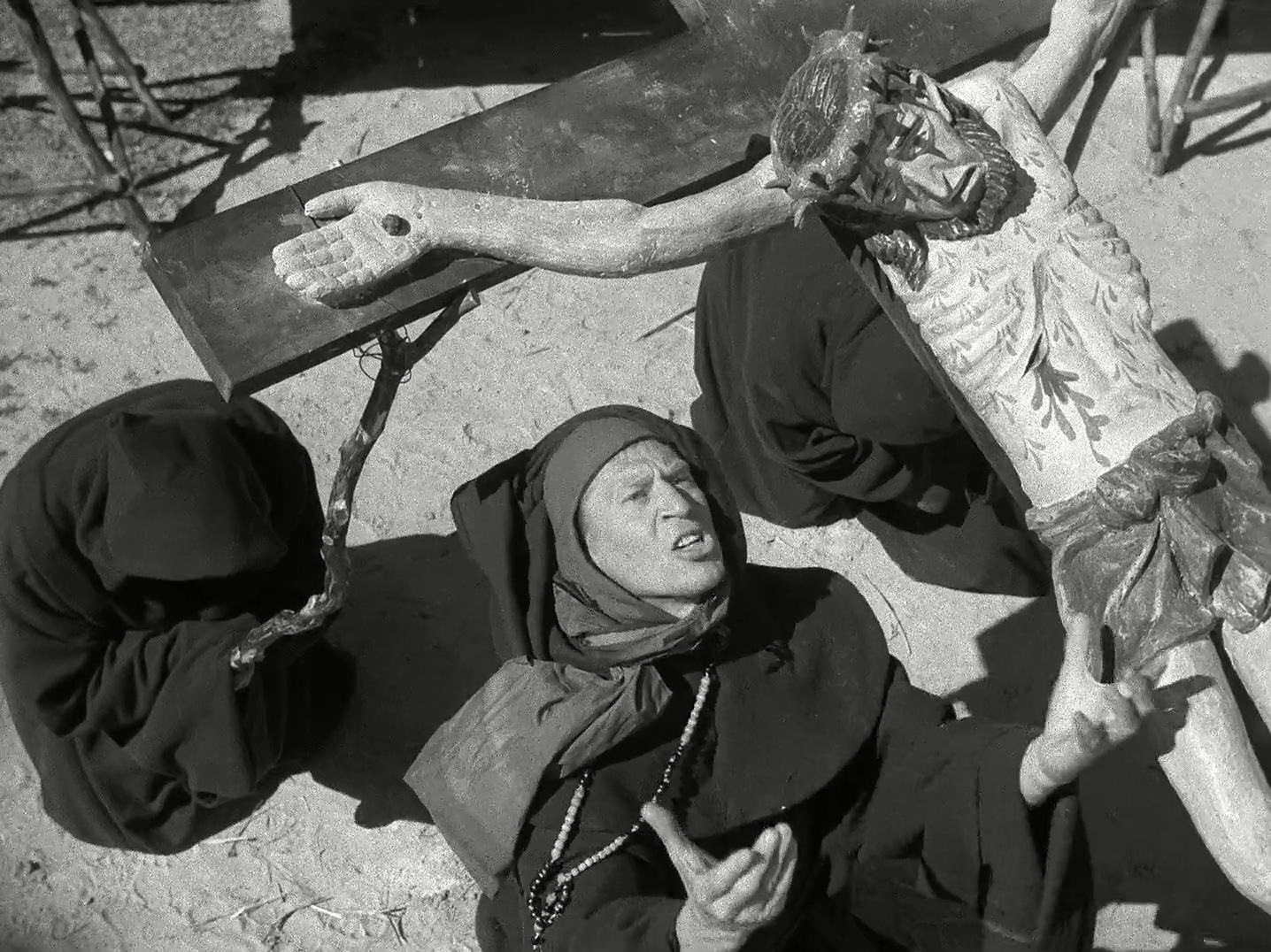 Anders Ek in Det sjunde inseglet (1957)