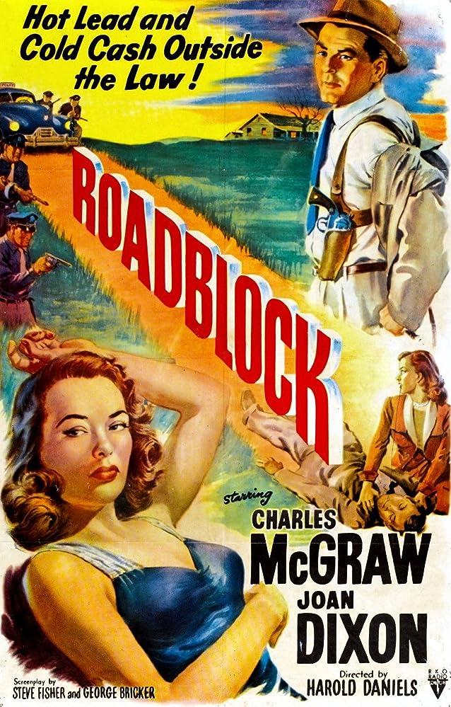 Joan Dixon and Charles McGraw in Roadblock (1951)