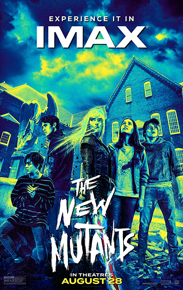 The New Mutants 2020 English 720p HDCAM 848MB | 300MB Download