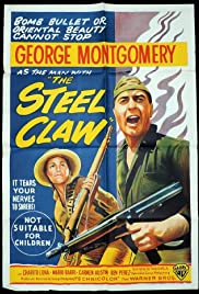 The Steel Claw Poster
