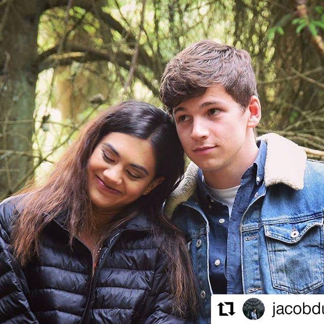 Lisa Ambalavanar and Jacob Dudman in The A List (2018)