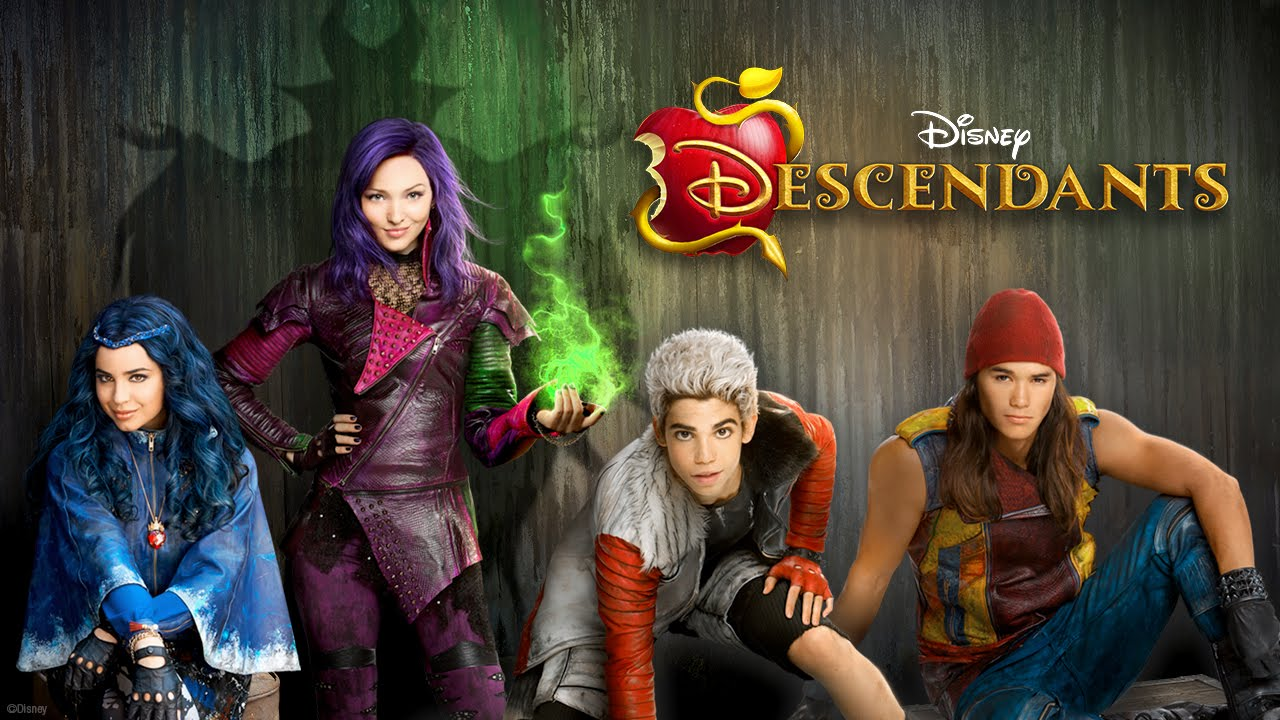 Booboo Stewart, Cameron Boyce, Dove Cameron, and Sofia Carson in Descendants (2015)