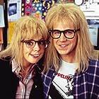 Dana Carvey and Olivia d'Abo in Wayne's World 2 (1993)