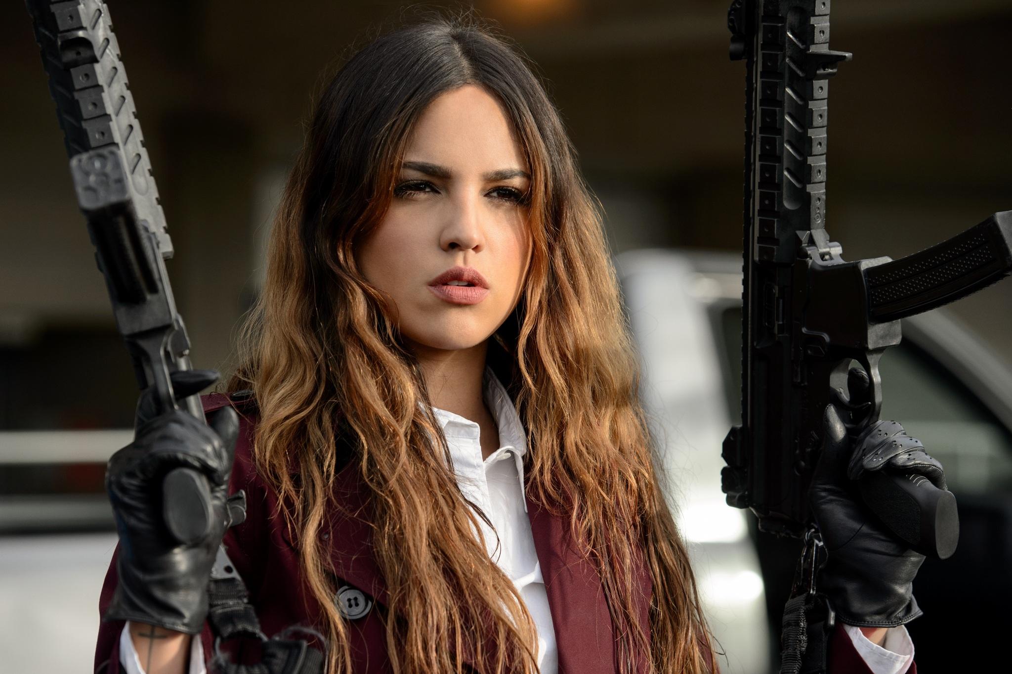 Eiza González in Baby Driver (2017)
