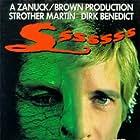 Strother Martin, Dirk Benedict, and Heather Menzies-Urich in Sssssss (1973)