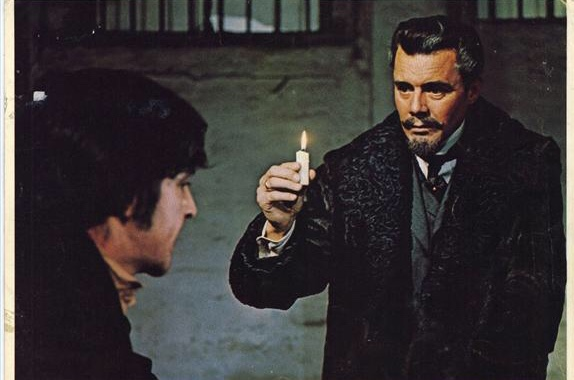 Alan Bates and Dirk Bogarde in The Fixer (1968)