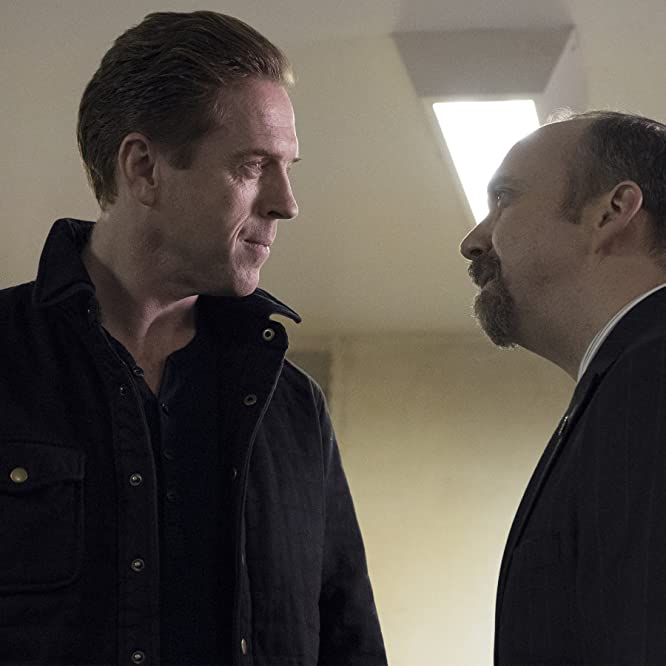 Paul Giamatti and Damian Lewis in Billions (2016)