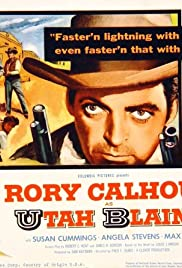 Utah Blaine(1957) Poster - Movie Forum, Cast, Reviews