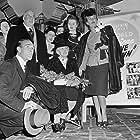 Randolph Scott, Ann Dvorak, and Rhonda Fleming in Abilene Town (1946)