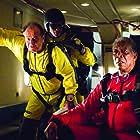 Morgan Freeman, Jack Nicholson, and Ian Anthony Dale in The Bucket List (2007)