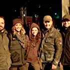 Sharni Vinson, Alastair Orr, Carlyn Burchell, Gustav Gerdener, and Zino Ventura in From a House on Willow Street (2016)