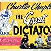 Charles Chaplin, Paulette Goddard, and Jack Oakie in The Great Dictator (1940)