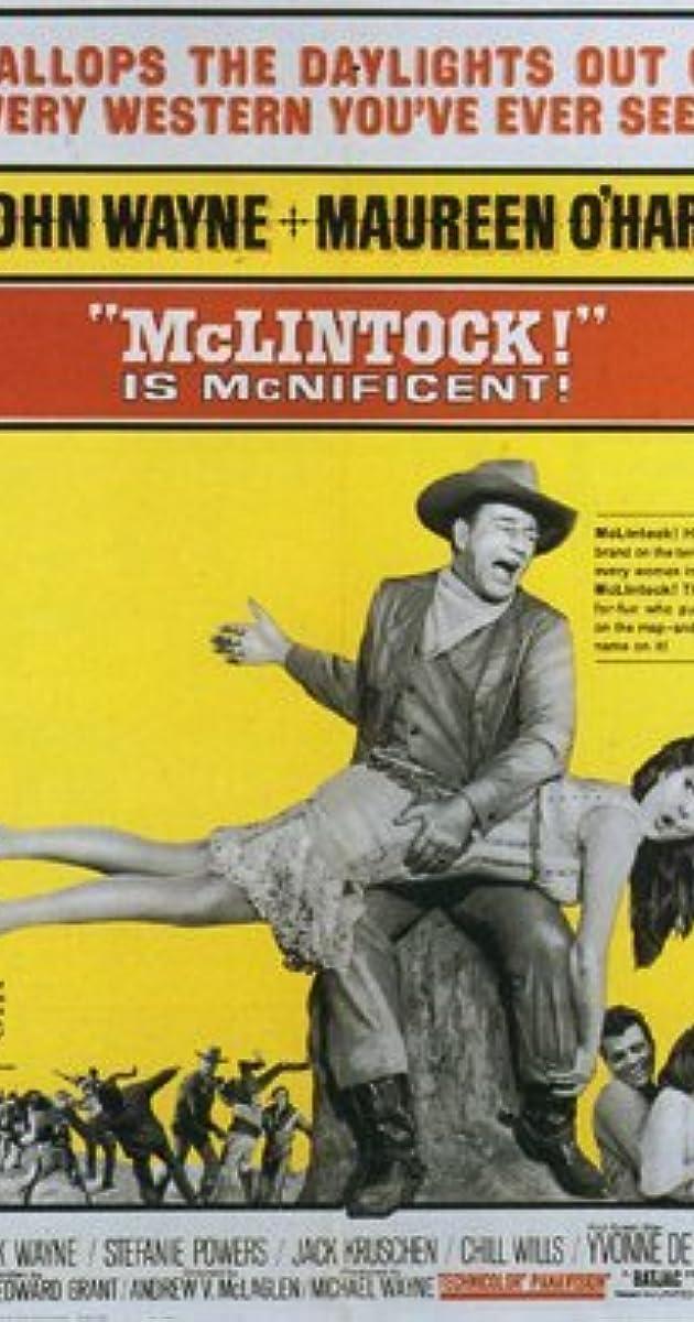 McLintock! (1963) - John Wayne as George Washington 'G W