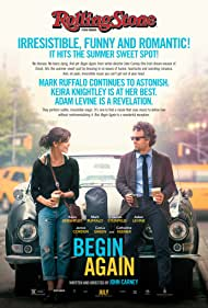 Keira Knightley and Mark Ruffalo in Begin Again (2013)