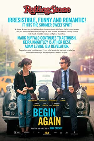 Begin Again Pelicula Poster