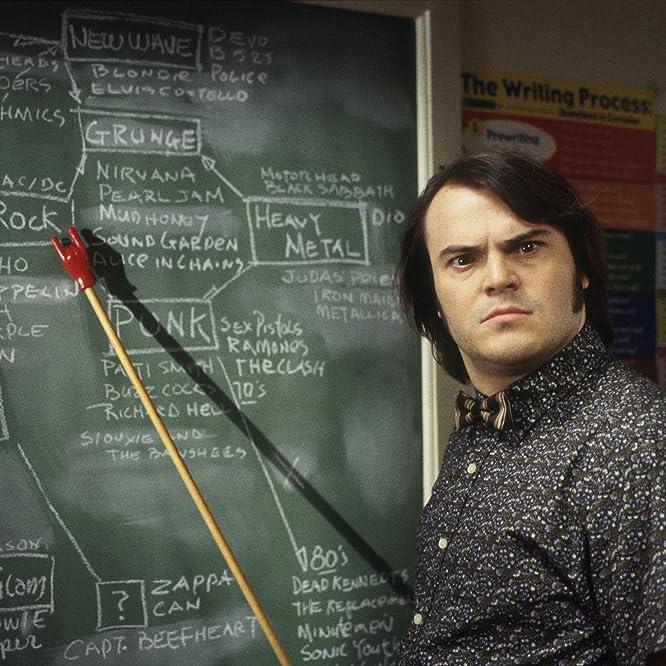 Jack Black in School of Rock (2003)
