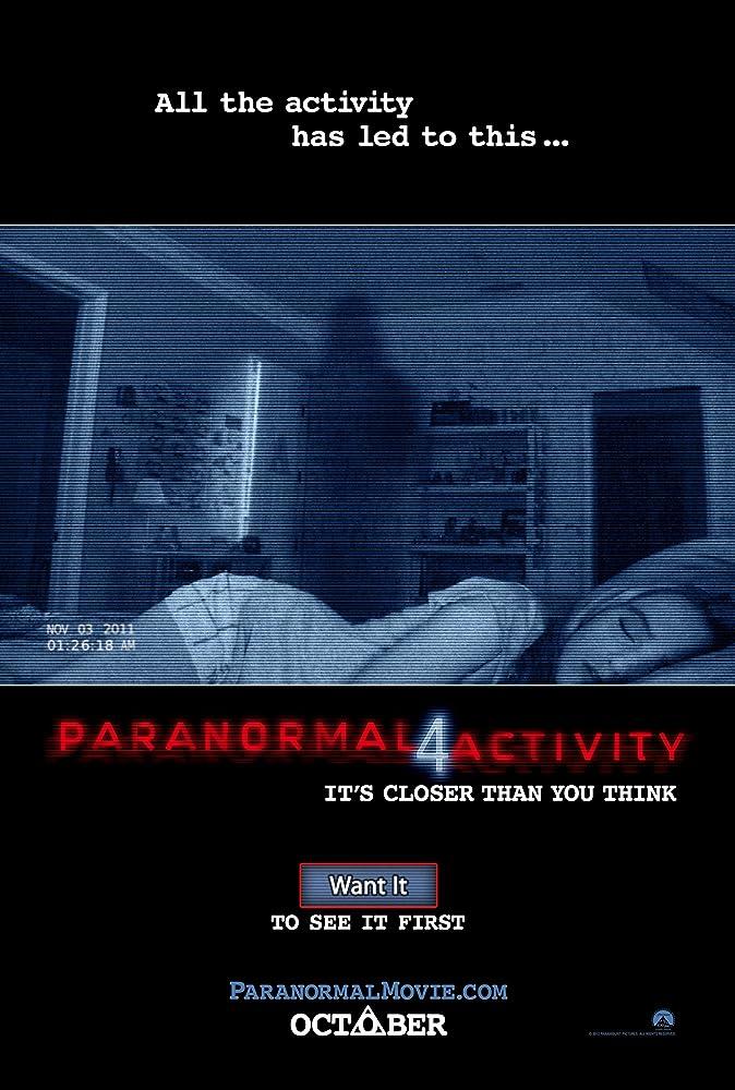 Paranormal Activity 4 (2012) Hindi Dubbed