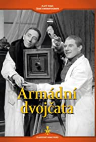 Ladislav Pesek and Jindrich Plachta in Armádní dvojcata (1938)