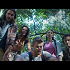 Luke Mitchell, Amali Golden, Jessica McNamee, Anthony J. Sharpe, and Benjamin Hoetjes in Black Water: Abyss (2020)