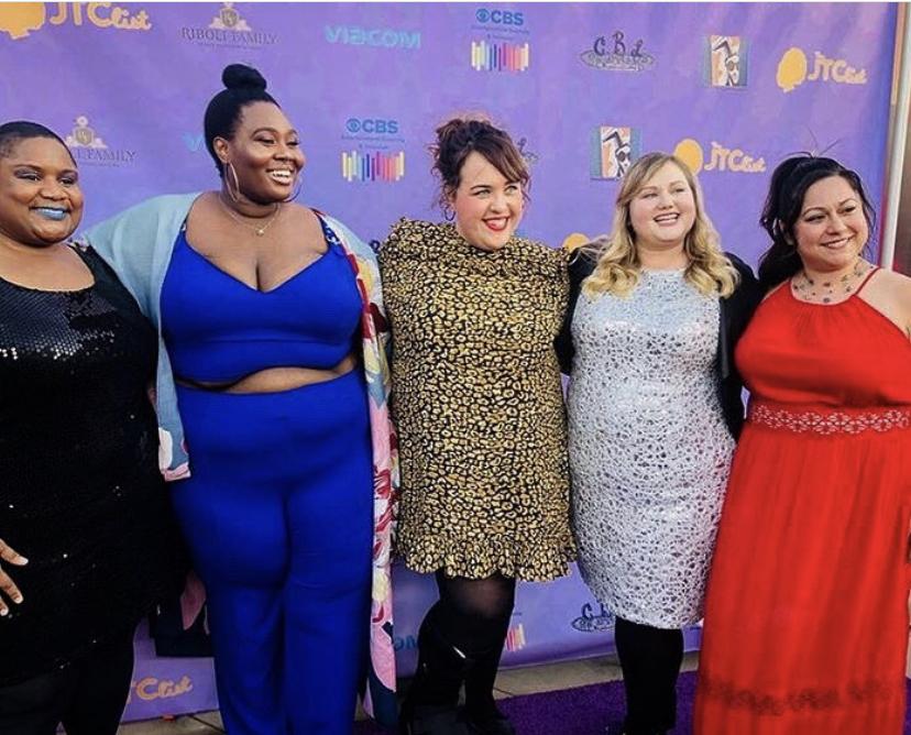 FATCH at JTC List Gala 2019; Left to right: Nikki Bailey, Simone Mariposa, Kati O'Hearn, Hannah Heard, and Gloria De Leon