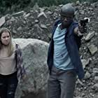 Dwayne A. Thomas and Andee Buccheri in A Deadly Legend (2020)