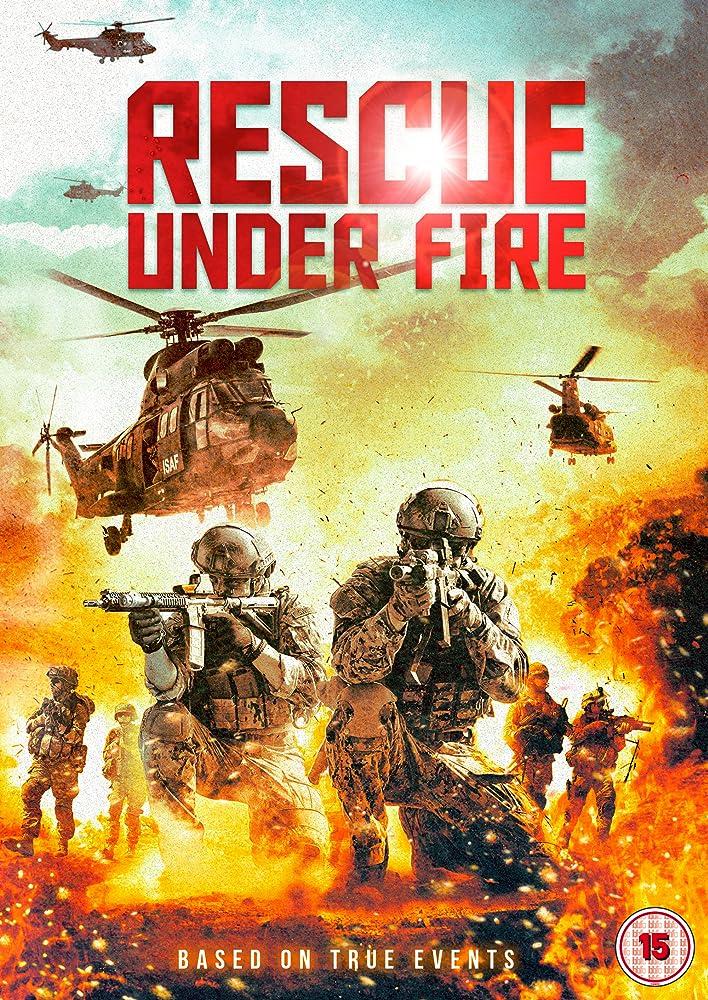 ปกหนัง ทีมกู้ชีพมหาประลัย Rescue Under Fire (Zona hostil)