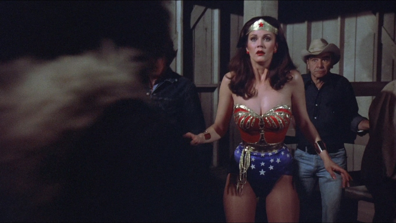 defeated Lynda carter wonder woman