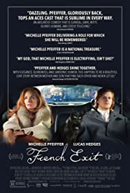 Michelle Pfeiffer and Lucas Hedges in French Exit (2020)