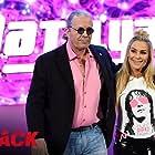 Bret Hart and Natalya Neidhart in WWE Payback (2016)