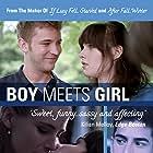 """Official """"Boy Meets Girl"""" poster  Cast:  Michael Welch (Twilight), Michelle Hendley, Alexandra Turshen, Michael Galante; Writer/Director: Eric Schaeffer (2014)"""