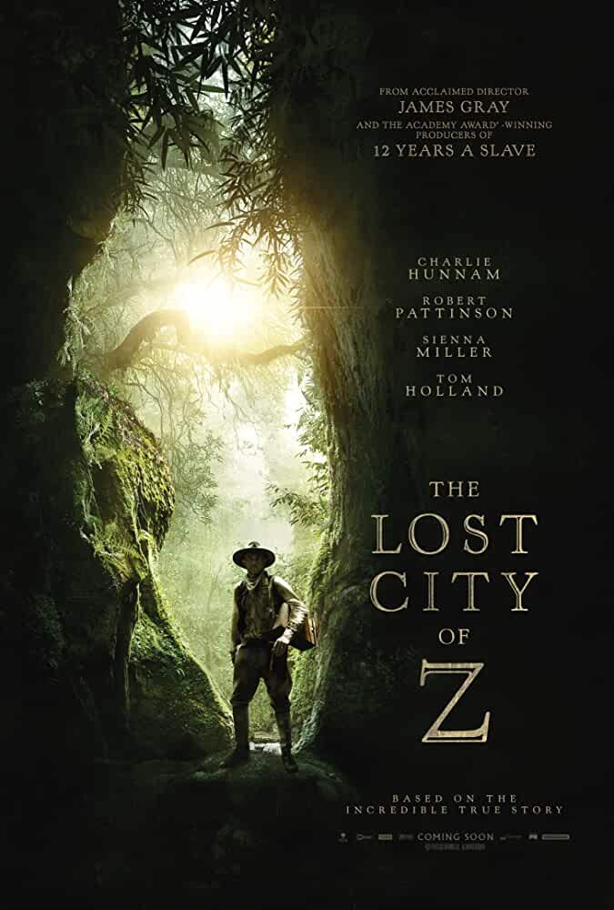 The Lost City Of Z (2017) LionGates WEB-DL Multi Audio [Hindi – Tamil – Telugu – English] x264 AAC